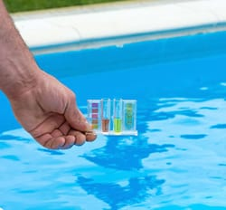 pool water is not safe to drink