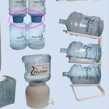 bottled water accesories